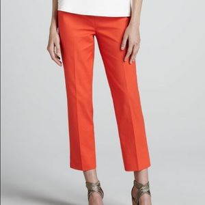 Lafayette 148 Bleecker Day Glow Cropped Pants